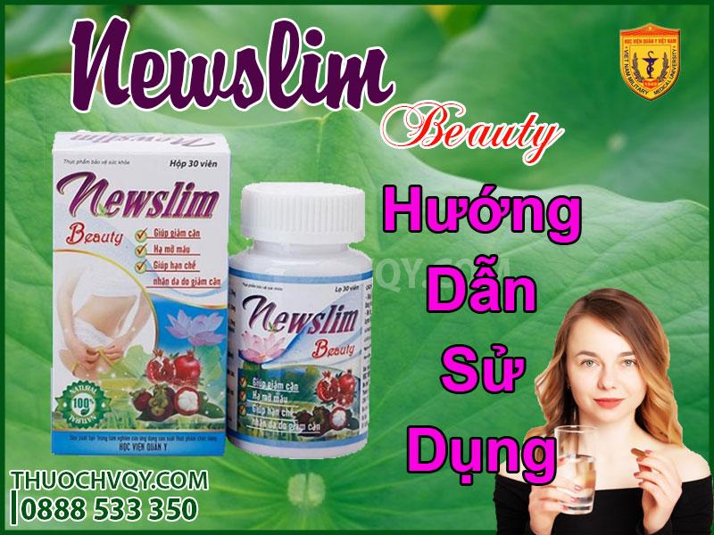 hướng dẫn sử dụng viên uống newslim beauty